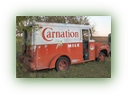 1958 Ton and a half Carnation Milk Truck right side