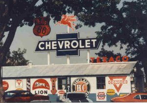 Very Rare Chevrolet Bowtie Outdoor Sign #3